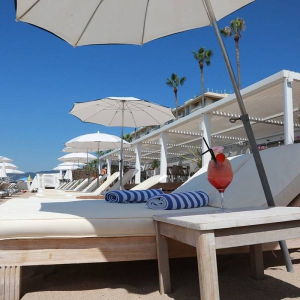 La plage - L'Alba - Restaurant Cannes